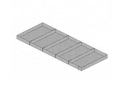 GM Матрац ГСИ-М 3x2x0,50-2,7(3,7) с покрытием