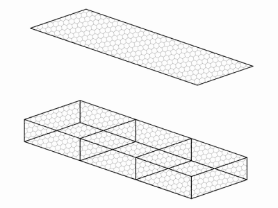 GM Матрац ГСИ-М 3x2x0,23-3,0 Ц