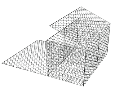GM Габион ГСИ-А 6*2*1-2,7 (3,7) Цинк+ПНД