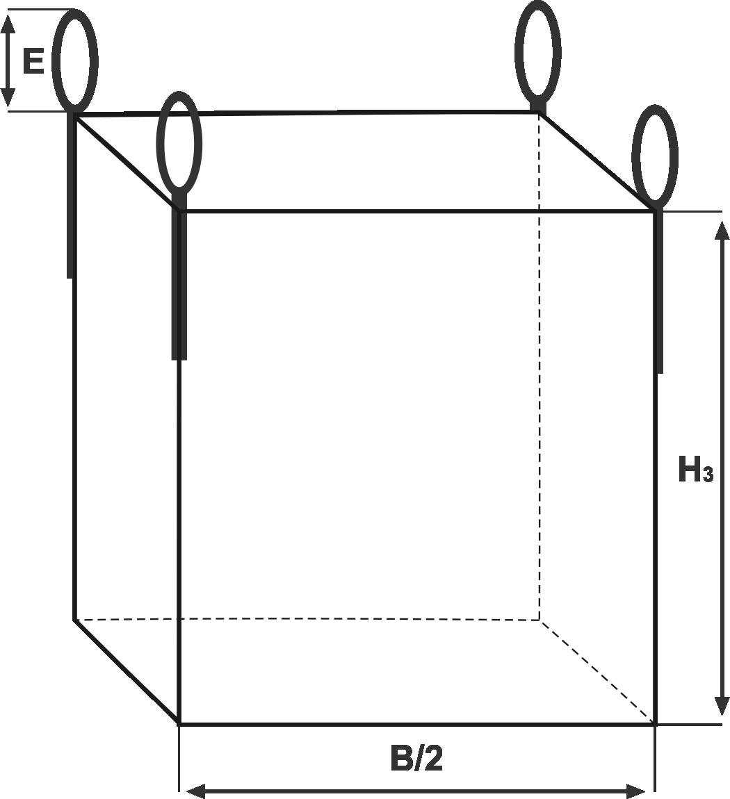 Технические характеристики односекционных геооболочек