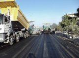 базальтовая геосетка для армирования дорожного покрытия